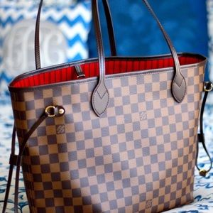 ëNew Louis Vuitton Neverfull Handbag Purse MMù